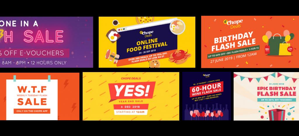 chopedeals flash sale campaigns