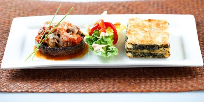 Food from Original Sin serving Mediterranean cuisine at Holland Village, Singapore