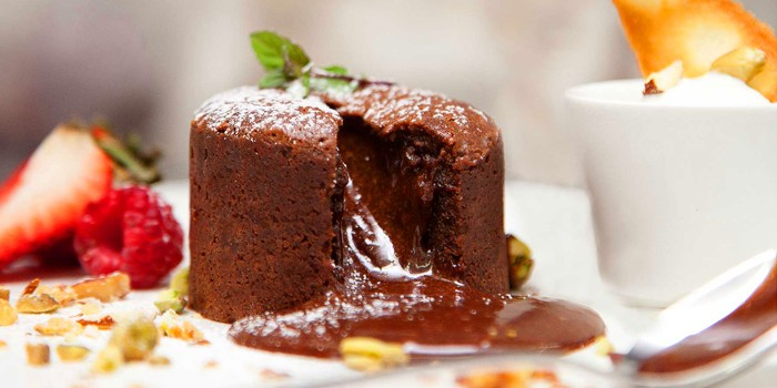 Chocolate Lava Cake rom RUBATO serving Italian cuisine in Bukit Timah, Singapore