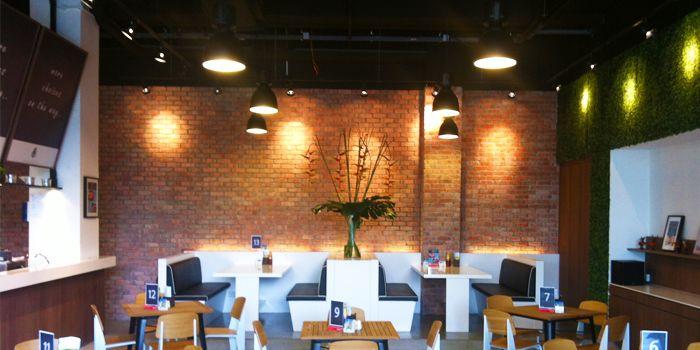 Restaurant Interior at Greenhouse Cafe in Design Hub at Tuas, Singapore