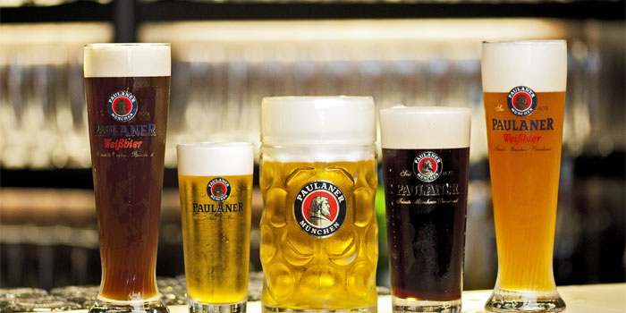 Image of Beer at Paulaner in Clarke Quay, Singapore