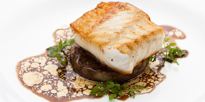 Image of the Cod Fish at Burlamacco Ristorante on Stanley Street in Telok Ayer, Singapore