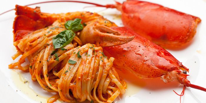 Lobster Linguine from Burlamacco Ristorante (Stanley Street) at Stanley Street in Telok Ayer, Singapore