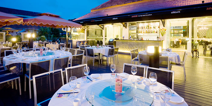 Outdoors at JUMBO Seafood (Dempsey Hill) in Dempsey, Singapore