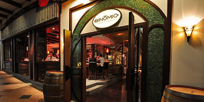 Exterior of Binomio on Craig Road in Tanjong Pagar, Singapore