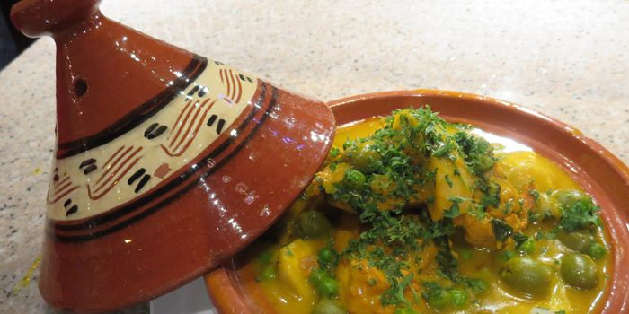 Chicken Tagine from Le Souk, Soho, Central, Hong Kong