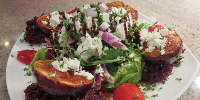 Roasted Fig Salad from Le Souk, Soho, Central, Hong Kong