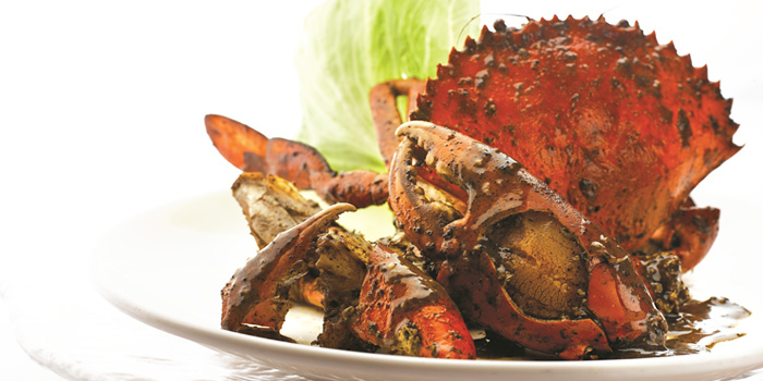 Pepper Crab from JUMBO Seafood (Riverside Point) in Clarke Quay, Singapore