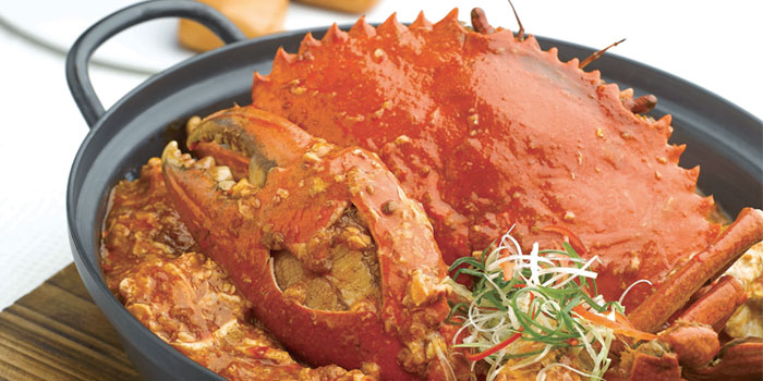 Chilli Crab from JUMBO Seafood (Riverside Point) in Clarke Quay, Singapore