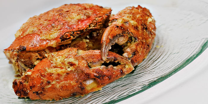 Crab from Palm Beach Seafood Restaurant in One Fullerton, Singapore