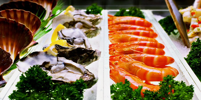 Seafood from Palm Beach Seafood Restaurant in One Fullerton, Singapore