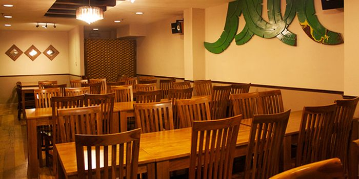 Interior of Pagi Sore at Far East Square on Telok Ayer Street in Chinatown, Singapore