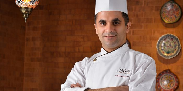 Chef Mohammad Hosseini from Shabestan in Robertson Quay, Singapore
