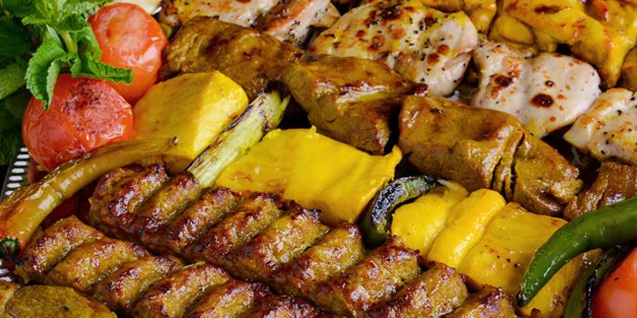 Grilled Meat Platter from Shabestan in Robertson Quay, Singapore