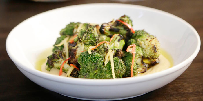 Seasoned Broccoli from 121BC in Central, Hong Kong