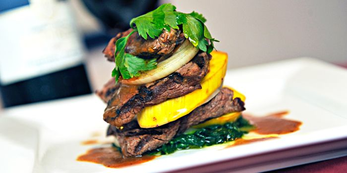 Grilled Beef Stack from Pasta Brava in Tanjong Pagar, Singapore