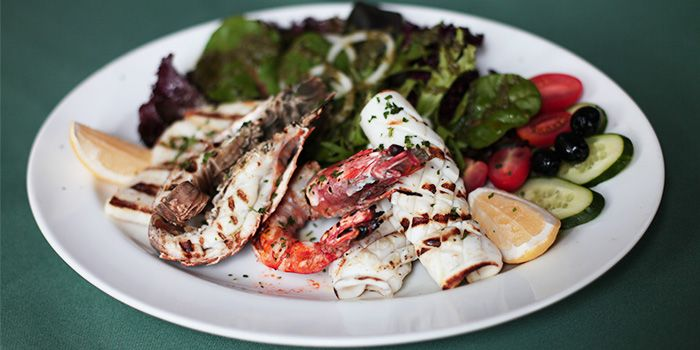 Grilled Seafood Salad from Pasta Brava in Tanjong Pagar, Singapore