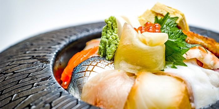 Kaisen Chirashi from Tatsu in Asia Square in Raffles Place, Singapore