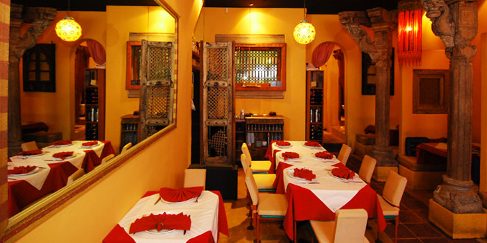 Interior of Kinara in Holland Village, Singapore
