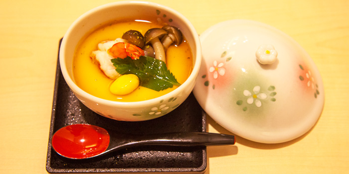 Chawamushi from Shinzo Japanese Cuisine in Clarke Quay, Singapore