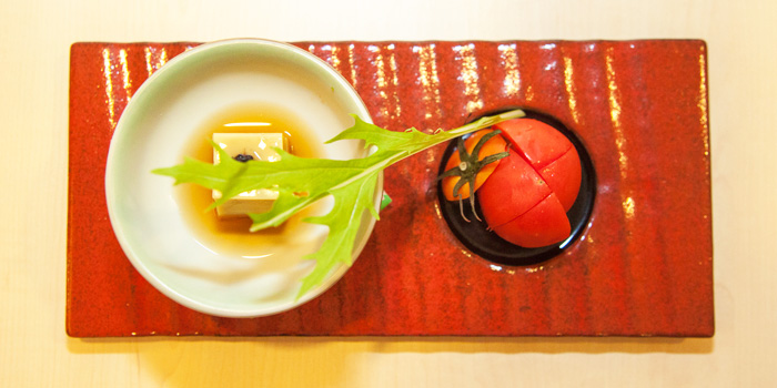 Hiyashi Tofu from Shinzo Japanese Cuisine in Clarke Quay, Singapore