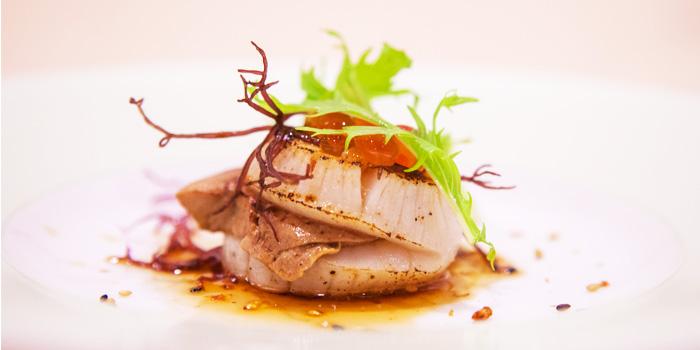 Hotate Foie Gras from Shinzo Japanese Cuisine in Clarke Quay, Singapore