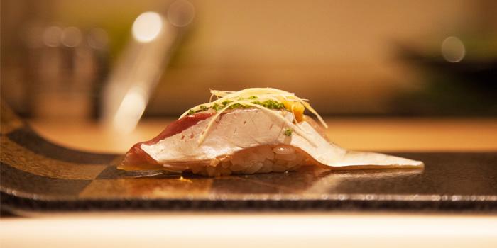 Nigiri from Shinzo Japanese Cuisine in Clarke Quay, Singapore