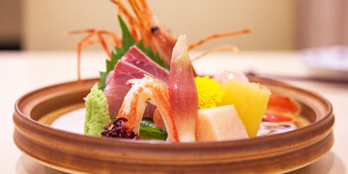 Sashimi from Shinzo Japanese Cuisine in Clarke Quay, Singapore