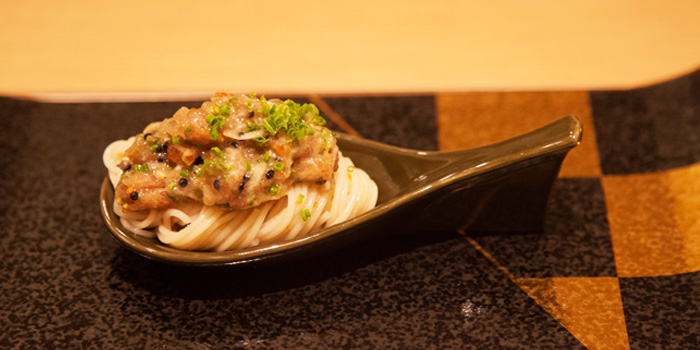 Tuna Angel Hair Pasta from Shinzo Japanese Cuisine in Clarke Quay, Singapore