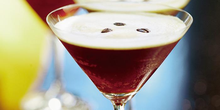 Espresso Martini from Post Bar in The Fullerton Hotel, Singapore