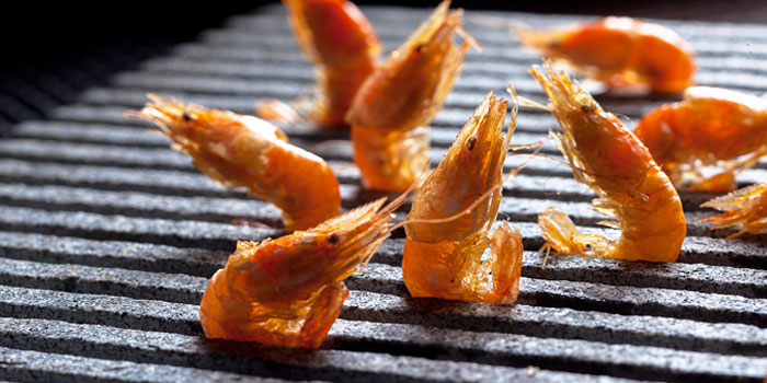 Grilled Shrimp from The Horse