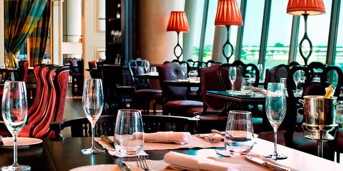Salon of La Brasserie in Fullerton Bay Hotel, Singapore