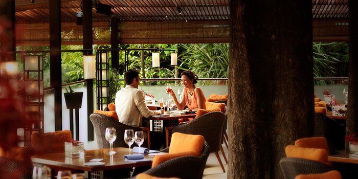 Dining Room of The Cliff at Sentosa, Singapore