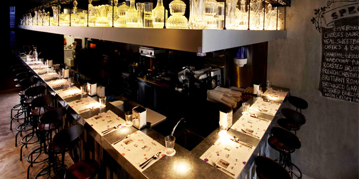 Bar Counter of Lolla along Ann Siang Road, Singapore