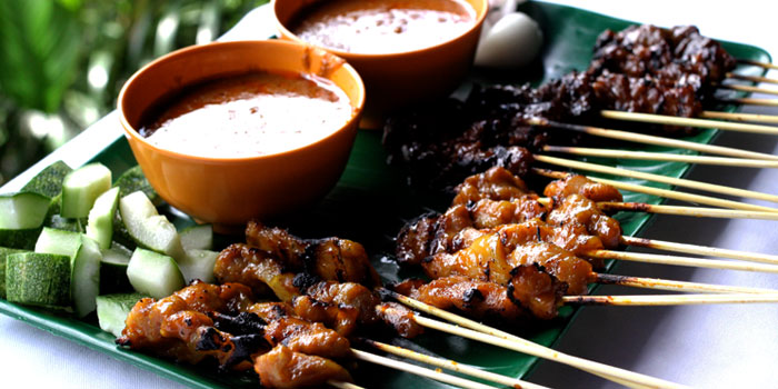 Char Grilled Satay from New Ubin Hillview in Bukit Timah, Singapore