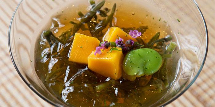Jyunsai Mango Tosazu Jelly from Sushi Mieda in Collyer Quay, Singapore