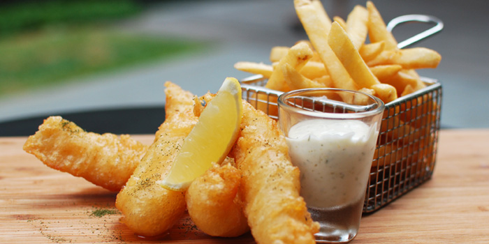 Fish and Chips from sixty40 in Buona Vista, Singapore