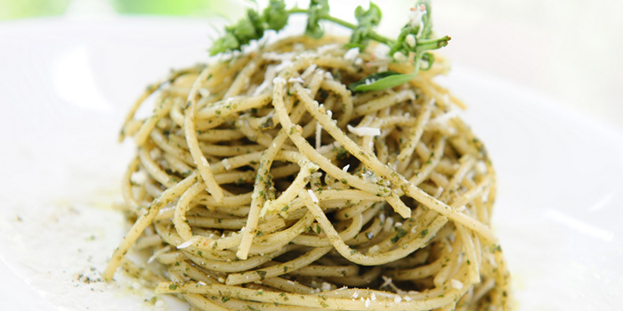 Herb Pesto Spaghetti from sixty40 in Buona Vista, Singapore