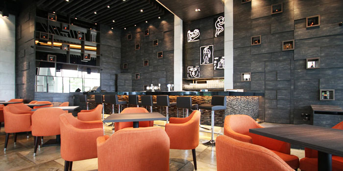 Interior of sixty40 in Buona Vista, Singapore