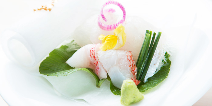 Sashimi from Sushi Mieda in Collyer Quay, Singapore