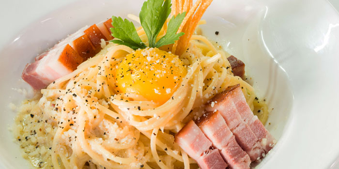 Smoked Pork Carbonara from New Ubin Hillview in Bukit Timah, Singapore