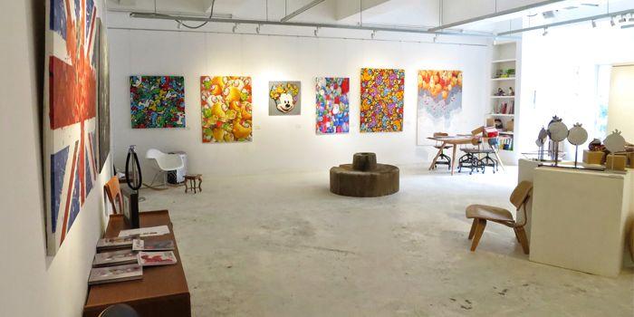 Art gallery, Artichoke Canteen, Ap Lei Chua, Hong Kong