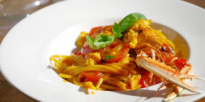 Spaghetti w/ Baby Lobster, DiVino Wine Bar & Restaurant, Central, Hong Kong