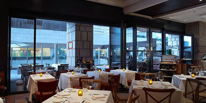Interior of DiVino Patio, Brim 28, Wan Chai, Hong Kong