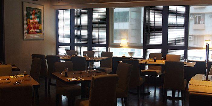 Interior of Table in Sheung Wan, Hong Kong