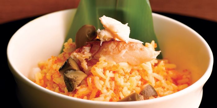 Fried Rice with Crabmeat from JING at One Fullerton, Singapore