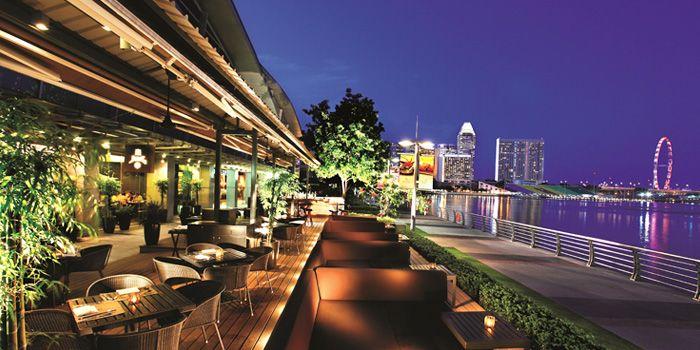 Exterior of JING at One Fullerton, Singapore