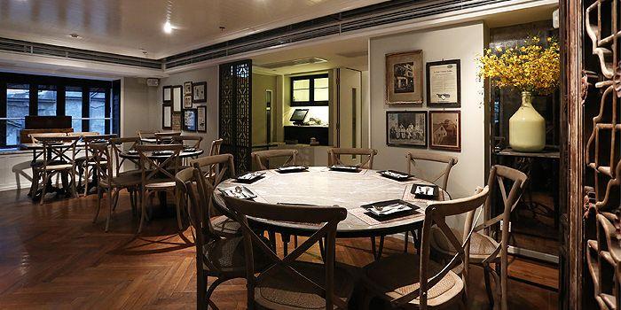 Cafe Siam interior, Central, Hong Kong
