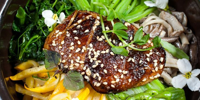 Roasted Foie Gras from CHI-Q Modern Korean Restaurant in The Bund, Shanghai