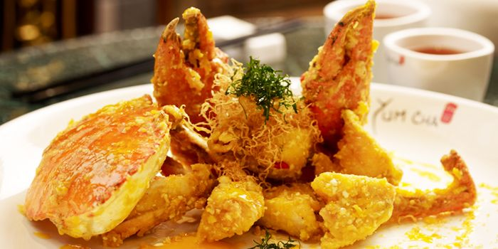 Salted Egg Crab from Yum Cha Chinatown in Chinatown, Singapore